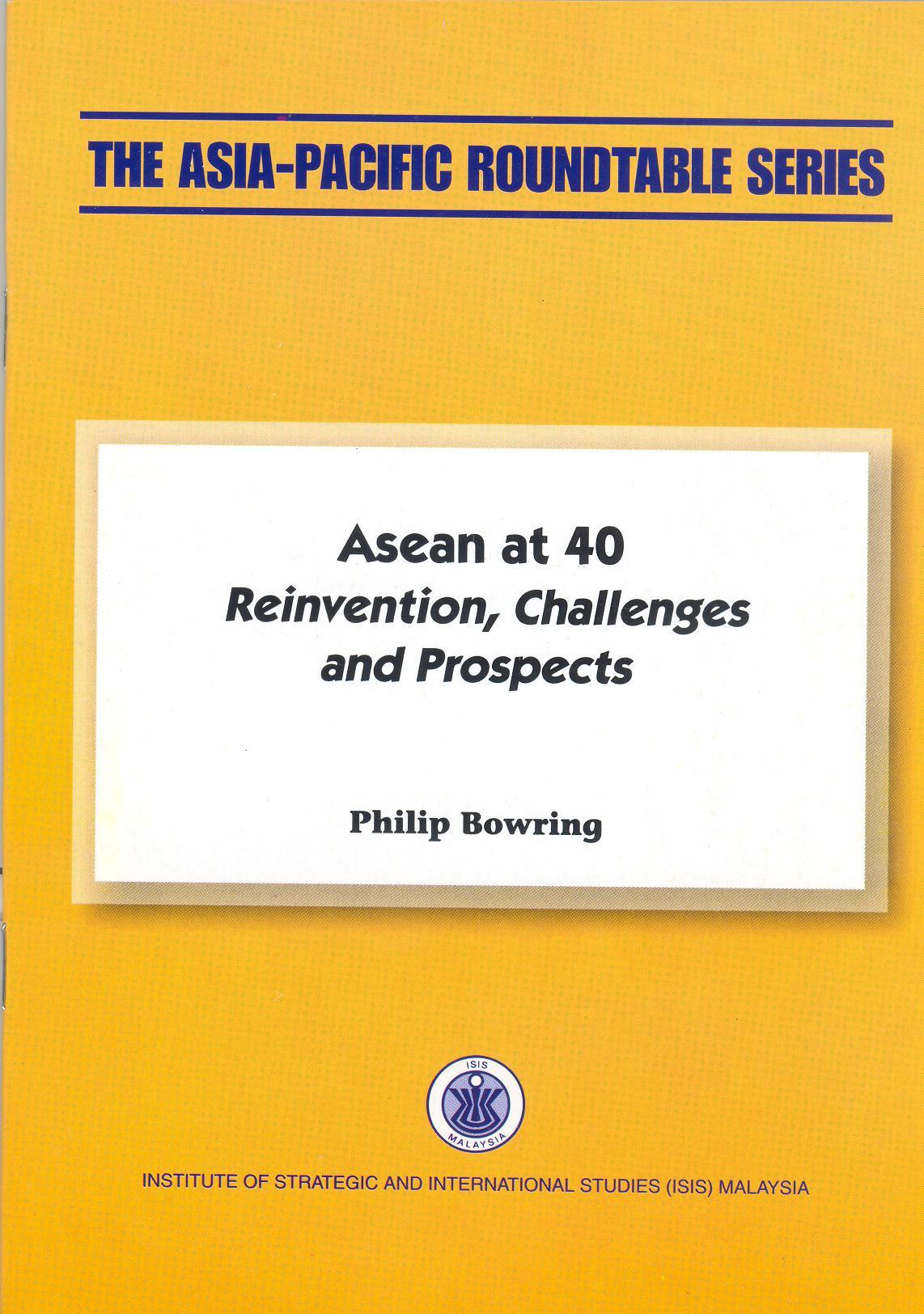 ASEAN AT 40