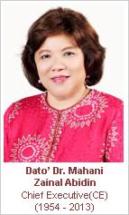 dato dr mahani zainal abidin